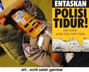 awas polisi tidur